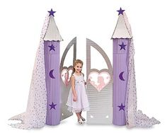 Castle Gate plus other princess party ideas