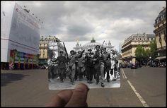 Place de l'Opéra, 25 August, 1944.