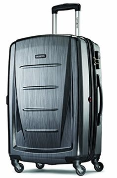 "Samsonite Winfield 2 Fashion 28"" Spinner Luggage Charcoal"