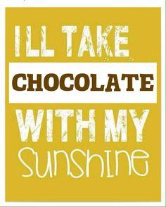 #ThursdaysThought: I'll take #Chocolate with my #Sunshine! #CerretaCandyCo #Glendale #Arizona
