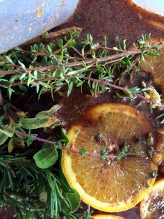 English Thyme citrus marinade used for brining poultry. Fruit Song, Sun Garden, Poultry, Spices, English, Backyard Chickens, Spice, English Language