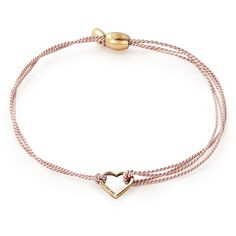 Alex And Ani Kindred Cord Bracelet ($21) ❤ liked on Polyvore featuring jewelry, bracelets, pink gold, charm bangles, cord jewelry, alex and ani charms, 14k charms and alex and ani bangles