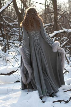 Heritrix of the Winter Wool Coat - medieval renaissance cloak cape fantasy