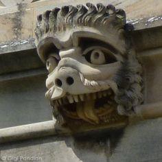 Gargoyle Girl: Gargoyles of Cambridge, England, Part II: King's College and Beyond