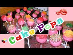 Vanille CakePops/CakePops Teig für Silikonform/Schnell und Einfach/Cake Melts - YouTube