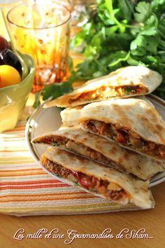 Crêpes Turques Crepes, Homemade Sandwich Bread, Turkish Recipes, Ethnic Recipes, Tunisian Food, Algerian Recipes, Ramadan Recipes, Crepe Recipes, Cooking Recipes
