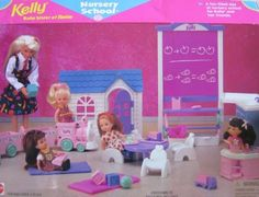 Barbie KELLY Nursery School Playset w Blackboard, Sink Unit, Train & MORE! (1996 Arcotoys, Mattel) by Arcotoys, Mattel, http://www.amazon.com/dp/B0041H9DQK/ref=cm_sw_r_pi_dp_ZMDZrb1G2MN50