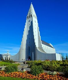 One of the most amazing places of worship in the world, Hallgrímskirkja is a Lutheran church at Reykjavík   TOP 10 Things to See and Do in Iceland