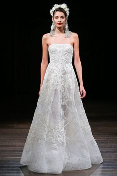 Naeem Khan Bridal Fall 2018 Collection Photos - Vogue
