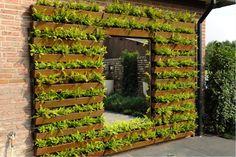 verticale groene wand Porch Garden, Diy Porch, Balcony Garden, Natural Playground, Indoor Playground, Outdoor School, Outdoor Classroom, Eyfs Outdoor Area, Outdoor Play