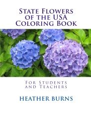 State Flowers of the USA : 50 State Flowers of the USA Coloring Book