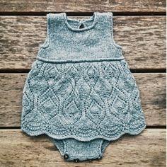 Knitting for Olive: BLONDEKJOLEBODY strikkeopskrift