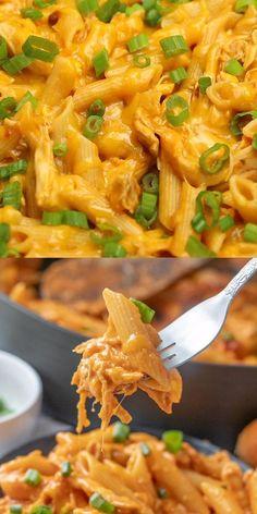 Cheesy Pasta Recipes, Chicken Recipes, Cheesy Chicken Pasta, Mexican Food Recipes, Dinner Recipes, Healthy Snacks, Healthy Recipes, Simple Food Recipes, Stay Healthy