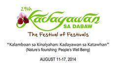 Kadayawan 2014 Schedule of Activities Davao, Philippines, Schedule, Tourism, Activities, House, Ideas, Timeline, Turismo