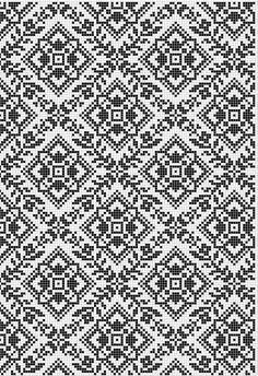 Ukraine, from Iryna Blackwork Embroidery, Folk Embroidery, Cross Stitch Embroidery, Embroidery Patterns, Cross Stitch Borders, Cross Stitching, Cross Stitch Patterns, Knitting Charts, Knitting Stitches