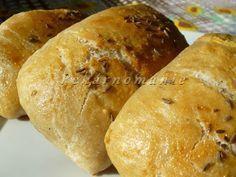 Kefírové kváskové dalamánky Ciabatta, Kefir, Food And Drink, Pizza, Bread, Baking, Recipes, Brot, Bakken