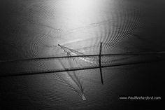 patterns under mackinac bridge