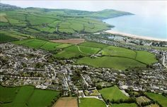 Tywardreath Aerial View, Time Travel, Cornwall, Places Ive Been, Woodland, City Photo, Around The Worlds, England, Landscape