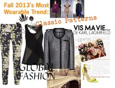 """Fall 2013 Trends: Clasic Patterns"" by taracaitlin ❤ liked on Polyvore"