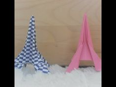 Best Of origami tower Instructions . How to Fold An origami Eiffel tower Easy French Teacher, Teaching French, Core French, French Art, Origami Tower, 3d Origami, French Club Ideas, French Crafts, French Education