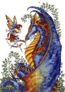 amy brown fairies/dragons