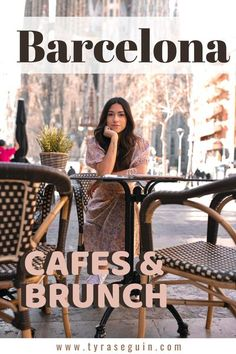 Barcelona Cafes and brunch Some places just feel like home Barcelona Cafe, Barcelona Guide, Barcelona Travel, European Travel Tips, Europe Travel Guide, Spain Travel, Travel Guides, Travel Destinations, Breakfast Cafe