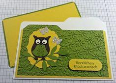 Tanja´s Stempel Zauberland: GlückwunschkartenPapier/Farbe: Flüsterweiß, Mang...