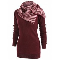 Amazing offer on Sweatshirts Women Plus Size, Seaintheson New Womens Plaid Raglan Long Sleeve Cowl Neck Button Pullover Casual Tunic Tops online - Wehaveover Loose Sweater, Long Sleeve Sweater, Sweater Scarf, Vestidos Vintage, Pullover Sweaters, Cardigans, Cashmere Sweaters, Sweaters For Women, Cheap Sweaters