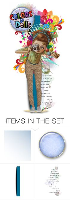 """""""Colors & Dolls Group Logo - contest entry ^TAS"""" by rosie305 ❤ liked on Polyvore featuring art and dollset"""