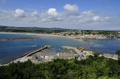 St Michael's Mount, Cornwall, looking to the mainland