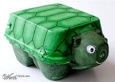 Egg Carton Creatures - Worth1000 Contests