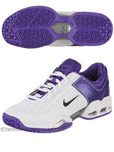 My fave tennis shoe now with purple!?! Yes, please! Too bad I have absolutely no purple tennis outfits :-P