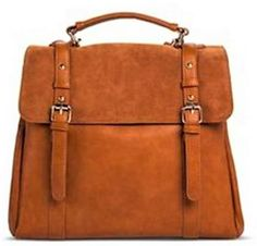 096f9bfd7d2 NWT Street Level Backpack Buckle Closure Brown Convertible Crossbody Bag  Leather