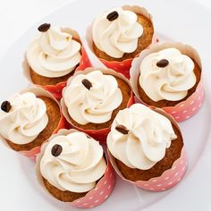 Kaffeportercupcakes med espressoglasur