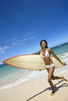 Get out on the water! There are plenty of benefits to being a surfer.