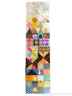 verykerryberry: My Small World Quilt-Along: Constructing Part Two