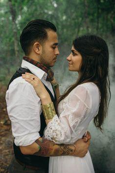 Boho wedding style | April and Paul Photography