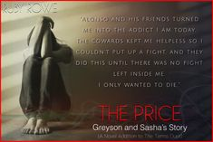 Sasha from The Price: Greyson and Sasha's Story by Author Ruby Rowe.