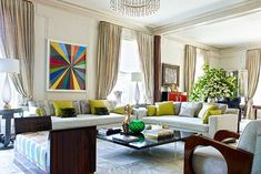 Set within the iconic hotel in New York City, Lisa and James Cohen's home is flush with romantic memories and Art Deco–inspired glamour