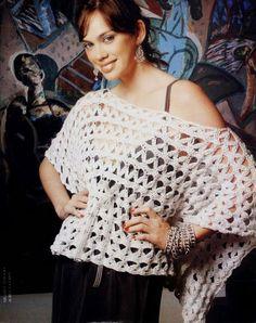 lo spazio di lilla: Poncho crochet per l'estate / Crochet poncho for summertime
