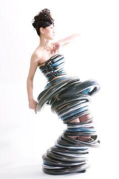 futuristic dress | Tumblr