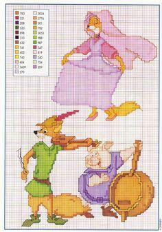 Robin Hood cross stitch