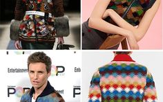 How to knit it: Eddie Redmayne's sweater from the Prada FW 2016 collection.