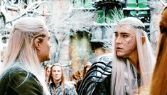 I can practically see the look of betrayal in Thranduil's eyes. Rr Tolkien, Tolkien Books, Legolas And Thranduil, Horrible People, O Hobbit, Red Sonja, Elvish, Lee Pace, Orlando Bloom
