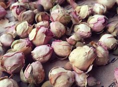 Natural Dried Rose Buds Vintage Wedding Baby Girl Table Decor Flower Girl Basket Dusty Dusky Pink Pot Pourri Dried Flowers Rose (1 Cup)
