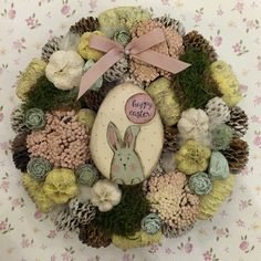 Easter Crafts, Happy Easter, Diy And Crafts, Christmas Wreaths, Villa, Holiday Decor, Spring, Creative, Advent
