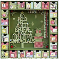 Thrifty Living: Thrifty Living's Advent Calendar