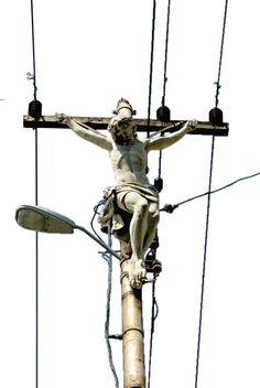 Christ on the line