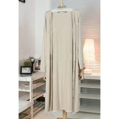 Cheap Wholesale Simple Design V-Neck Long Sleeve Solid Color Women's Coat (KHAKI,ONE SIZE) At Price 9.01 - DressLily.com