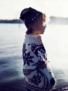 Scotch Shrunk Nordic patterned knits for boys for winter 2012